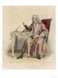 Francois-Marie Arouet French Writer and Philosopher Giclee Print by Geille