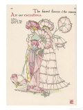 Carnations Personified Giclee Print by Walter Crane