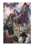 George Merry and His Fellow Pirates Giclee Print by John Cameron