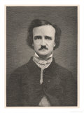 Edgar Allan Poe American Writer Impression giclée par Timothy Cole