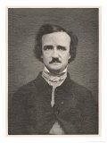 Edgar Allan Poe American Writer Giclée-Druck von Timothy Cole