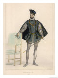 Charles Ix King of France Giclee Print by A. Deveria