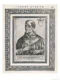 Pope Leo IV Pope and Saint Giclee Print by  Cavallieri