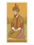 Humayan Mughal Emperor from 1530 But Spent Most of His Rule in Exile Giclee Print by Chataignon 