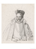 Tycho Brahe Danish Astronomer Giclee Print by Robert Cooper