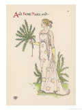 Rosemary Giclee Print by Walter Crane