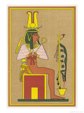 Ptah-Seker-Ausar the Three- In-One Memphis God of Creation and Resurrection Giclee Print by E.a. Wallis Budge