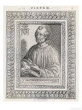 Pope Petrus (Peter) Saint and First Pope Executed by Nero Giclee Print by  Cavallieri