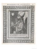 Pope Benedictus II Pope and Saint Giclee Print by  Cavallieri