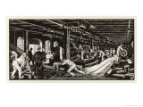 Krupp&#39;s Factory Essen: Machine Shop I Giclee Print by Robert Engels