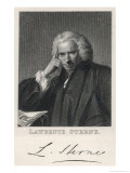 Laurence Sterne the Novelist and Clergyman Giclee Print by Henry Adlard