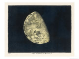 The Moon Gibbous, in a Decreasing State Giclee Print by Charles F. Bunt