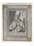 Pope Benedictus IV Giclee Print by  Cavallieri