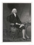 James Madison Fourth President of the United States Giclee Print by Alonzo Chappel