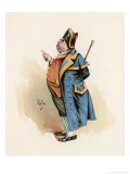 Mr. Bumble the Beadle Who Sold Oliver Twist to the Undertaker Giclee Print by Joseph Clayton Clarke