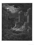 Fall of Babylon Giclee Print by Gustave Doré