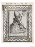 Pope Benedictus VII Giclee Print by  Cavallieri