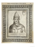 Pope Silvester I Pope and Saint Giclee Print by  Cavallieri