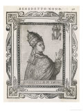 Pope Benedictus Ix He Sold the Papacy to Gregorius VI Giclee Print by  Cavallieri