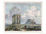 Cumulus Clouds Seen Over Some Ruins Giclee Print by Charles F. Bunt