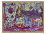 Scheherazade Set Design by Leon Bakst Giclee Print by Leon Bakst