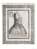 Pope Silvester II Giclee Print by  Cavallieri