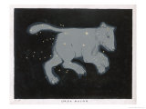 Ursa Major: The Constellation is Composed at First Sight of Seven Conspicuous Stars Giclee Print by Charles F. Bunt