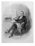 Anthelme Brillat-Savarin, French Gastronomist and Writer Giclee Print by Charles Geoffroy