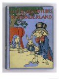 The Mad Hatter's Tea Party is Featured on the Cover of the 1916 Edition Published by Cassell Giclee Print by Cayley Robinson