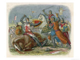 Simon De Montfort is Killed at the Battle of Evesham Giclee Print by James Doyle