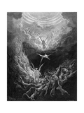 The Last Judgment Reproduction proc&#233;d&#233; gicl&#233;e par Gustave Dor&#233;