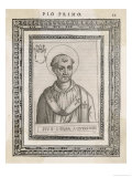Pope Pius I Pope and Saint Giclee Print by  Cavallieri