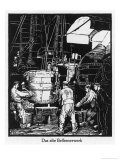 Krupp's Old Bessemer Machine Giclee Print by Robert Engels