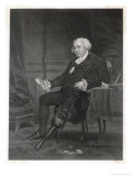American Statesman Gouverneur Morris with His Wooden Leg Giclee Print by Alonzo Chappel