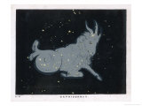 The Constellation of Capricorn Giclee Print by Charles F. Bunt