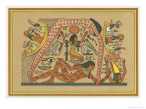 The Supreme Earth-God Giclee Print by E.a. Wallis Budge