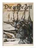 German Infantry Advance Giclee Print by Lutz Ehrenburger