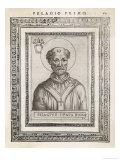 Pope Pelagius I Giclee Print by  Cavallieri