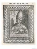 Pope Benedictus I Giclee Print by  Cavallieri