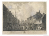 One of the Most Interesting Views in Chichester Giclee Print by M. Dubourg