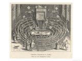 The Anatomy Theatre at Leiden Netherlands Giclee Print by Fischer