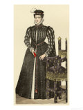Mary Queen of Scots Giclee Print by Gaignieres