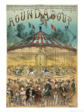 Roundabout Music Cover Giclee Print by Alfred Conconeneti