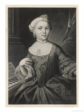 Marianne Mozart Sister of Wolfgang Amadeus Giclee Print by R. Adlard