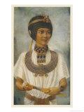 Tutankhamun Pharaoh Giclee Print by Winifred Brunton