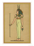 Funerary Deity She Mourns the Pharaoh When He Dies and Escorts Him into the Underworld Giclee Print by E.a. Wallis Budge