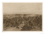Crecy the Decisive Defeat of the French by the English is Won Giclee Print by Henri Dupray