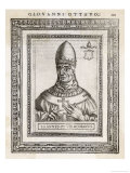 Pope Joannes VIII the First Pope to be Assassinated Rather Than Martyred Giclee Print by  Cavallieri