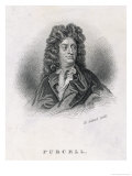 Henry Purcell the English Composer Giclee Print by Henry Adlard