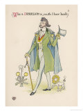 Dandelion Giclee Print by Walter Crane